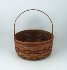 Longaberger 1989 Quilting Basket All American w Protector