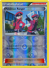 x4 Pokemon Ranger - 104/114 - Uncommon - Reverse Holo Pokemon XY Steam Siege M/N