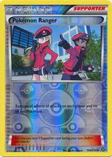 x4 Pokemon Ranger - 104/114 - Uncommon - Reverse Holo Pokemon XY Steam Siege M/N