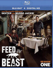 Feed the Beast: Season 1 2-Disc Blu-ray No UV Never Watched Free US Shipping