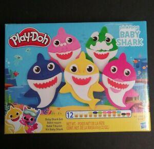 Play Doh Set Playdough Baby Shark Kit