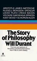 THE STORY OF PHILOSOPHY by Will Durant FREE SHIPPING paperback book Locke Plato