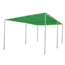 "10 X 16 Canopy, Swap Meet, Complete Kit with frame 3/4"" pipe-Green Mesh Top"