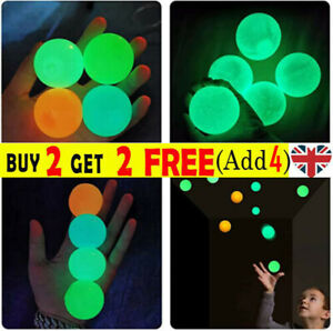 Sticky Balls for Ceiling Stress Relief Glow in the Dark Kids  Gifts