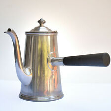 SILVER SOLDER, Stick Handle Coffee Pot - Wm. A. Rogers - 19th C. NY Elks Lodge