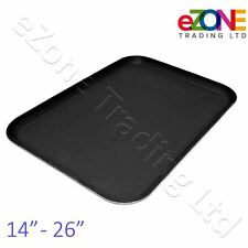 Rectangular NON SLIP Tray Bar Pub Café Waiter Serving Dinner Drinks Food Platter