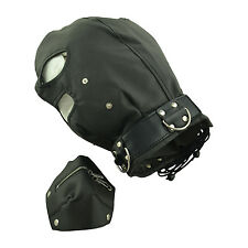 ce masque de bondage type cagoule fetish mask BDSM domina NEUF