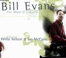 BILL EVANS FEATURING WILLIE NELSON & LES McCANN- FOR WHAT IT'S WORTH CD SINGLE 3
