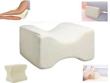 MEMORY FOAM LEG PILLOW CUSHION SUPPORT REDUCE PAIN BACK HIPS KNEE ORTHOPAEDIC