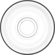 "LAV 6tlg. Unterteller-Set aus hochwertigem Glas Untertasse Cay Tabagi ""KLASIK"""
