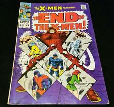 X-MEN #46 VS THE JUGGERNAUT EARLY X-MEN VG/FN
