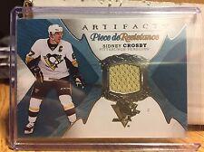2016-17 UD Artifacts Sidney Crosby Piece de Resistance Hockey Card