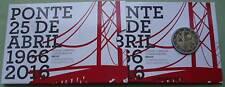 Portugal 2 Euro Gedenkmünze 2016 Brücke Ponte Coin Set Blister Official Proof PP