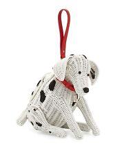 Kate Spade Rose Colored Glasses Wicker Dalmatian Dog Handbag Purse