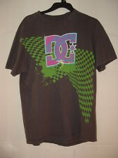 DC Sports Gray Skater Surf Style T-Shirt Vintage
