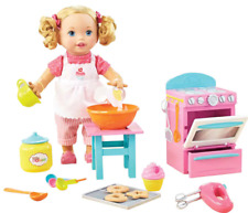 Little Mommy Bake with Me Baby Doll with lifelike movements