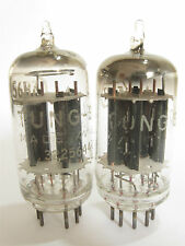 2 matched 1956+/- Tung-Sol 5687 tubes - TV7B tested @ 81/80, 79/83, min:38/38