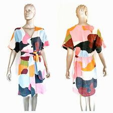 GORMAN Women's Multicolour Katie Eraser x Gorman Dress Size 10