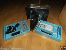 Nintendo Wii Schwarz in OVP, inkl. 2. Nunchuk & Spiel Dancing Stage, 2J.Garantie
