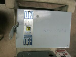 SQUARE D PQ-3603, 30 AMP I LINE BUSWAY SWITCH, 600 VOLT, 3 POLE (GOOD CONDITION)