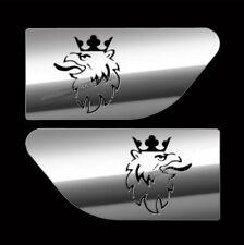 SCANIA Wing Spoiler Trim Super en Acier Inoxydable Poli 2 Pcs