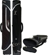 New PureX PXC2034BW 2x4 Pool Cue Case - WHITE & Black Special Edition Cue Case