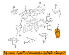 Chevrolet GM OEM 09-11 HHR Instrument Panel Dash-Center Bezel 25825802