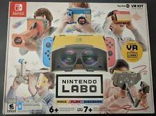 *NEW* Damaged box Nintendo Switch LABO Toy-Con 04 VR Kit Full Set Bundle - 1D