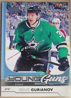 2017-18  UPPER DECK Serie 1 #208 Denis GURIANOV, YOUNG GUNS, Stars