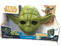 Star Wars YODA Electronic Mask The Empire Strikes Back Hasbro 2017 New Jedi