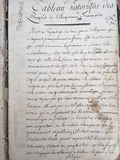 Texte MANUSCRIT De Philosophie 144 Pages Sur Le Discours La Rhétorique 1850