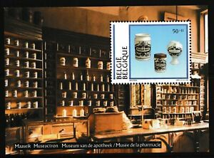 Belgium 1994 Museum Exhibits - MNH Miniature Sheet - Cat £12 - (92)