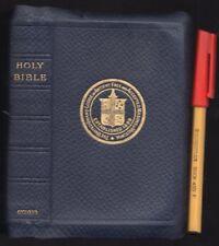 1935 FREEMASONARY GRAND LODGE VICTORIA HOLY BIBLE Leather-Bound + GILT Melbourne