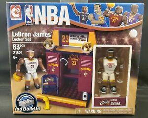 New NBA Lebron James Locker Set 63 pieces