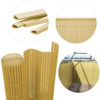 PVC Sichtschutzmatte Sichtschutzzaun Terrasse Balkon Zaun Gartenzaun Bambus