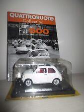 FIAT 500F 1965 CON FASCICOLO QUATTRORUOTE SCALA 1:24