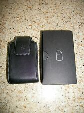 NEW BLACKBERRY BOLD LEATHER PHONE CASE HOLSTER SWIVEL BELT CLIP POUCH