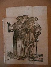 SCHAUFFELEIN HANS LEONHARD SCHAUFFELIN gravure ancienne estampe 16 e  Durer