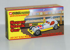 DISPLAY BOX FOR CORGI JUNIORS 75 SUPER STOCK CAR  -  FREE UK POST