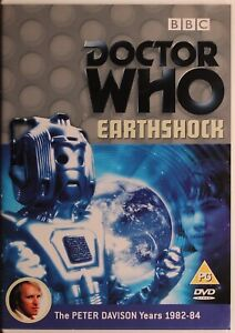 Doctor Who - Earthshock DVD - Peter Davidson - Free Post