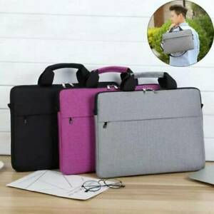 15.6 inch Laptop PC Waterproof Shoulder Bag Carrying Notebook Case Cover UK
