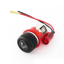 12V Red light Cigarette lighter plug & socket for Ford Fiesta Focus Mondeo Esc