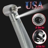 2/4 Hole Dental E-generator Fiber LED Standard Turbine High Speed Handpiece Sale
