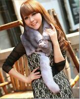 Top Real WHOLE Fox Fur Shawls Cape Wrap Scarf  Vest Scarves