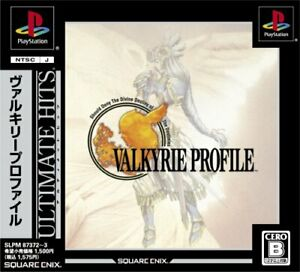 Valkyrie Profile square Enix Playstation Ultimate Hits