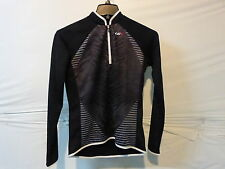 Louis Garneau Women's Gardena 2 Long Sleeve Cycling Jersey Medium Black