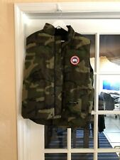 Authentic Canada Goose Freestyle Vest Camo Large New With Tags 100% Authentic