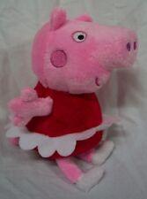 "Fiesta NICE SOFT PEPPA PIG 7"" Plush STUFFED ANIMAL Toy NEW"