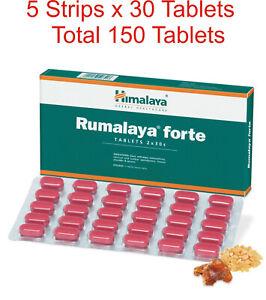 5 x 30 Tabs Himalaya Rumalaya Forte 150 Tablets - Exp 2023