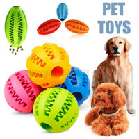 Dogs Ball Chew Pet Puppy Teething Treat Clean Bite Toys Durable Training